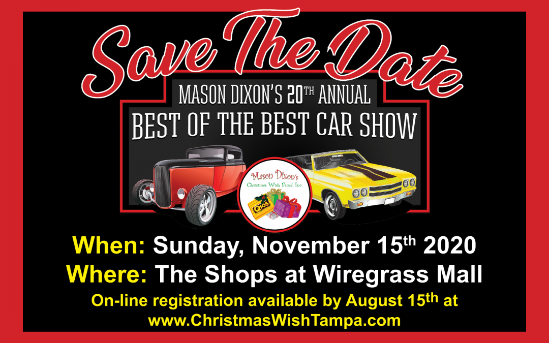 20th Annual Mason Dixon Christmas Wish Car Show