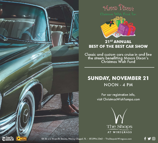 21st Annual Mason Dixon Christmas Wish Car Show